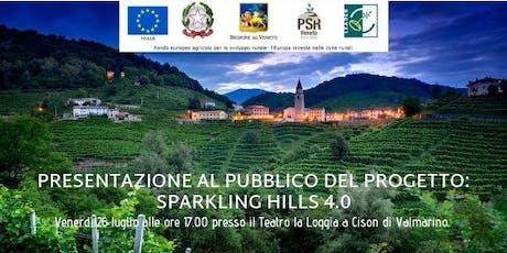 """Presentazione al pubblico del Progetto """"SPARKLING HILLS 4.0"""" biglietti"""