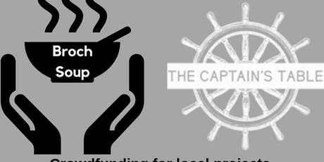 Broch Soup #2 (@ The Captain's Table) tickets