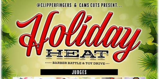 Holiday Heat - Barber Battle & Toy Drive
