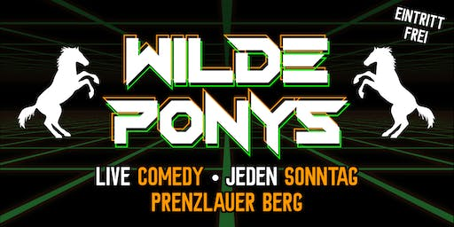 "Stand-up Comedy • in P-Berg • 28. Juli • ""WILDE PONYS"""