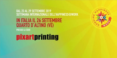 IWH@W_PIXARTPRINTING: Employee Brand Experience Journey: il percorso da new entry ad Ambassador tickets