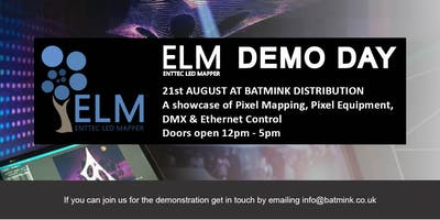 Enttec Demo Day at Bamink HQ -  Showcasing Pixel mapping & DMX