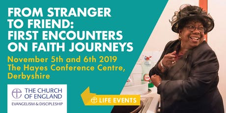 From Stranger to Friend: first encounters on faith journeys tickets
