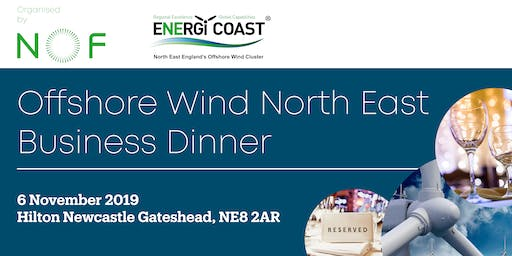 Offshore Wind North East Dinner 2019