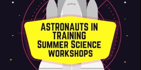 Astronauts in Training Madeley Library tickets