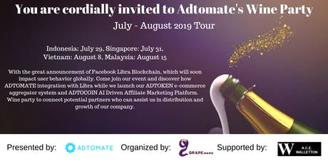 Adtomate Blockchain After Party - Singapore tickets