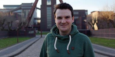 Live-Podcast @ Zeche Zollverein: Wie kann ich als Startup mein Sales auf da
