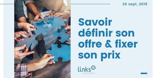 Atelier Formation #Lyon | Savoir définir son offre & fixer son prix | Links Consultants