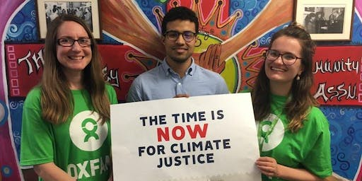 Have Your Say: Shaping Oxfam's Climate Campaign