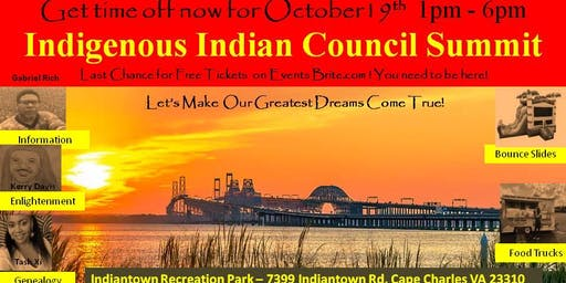 Indigenous Indian Council Summit