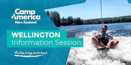 Wellington Camp America Info Night - Tues 20th Aug 2019 tickets