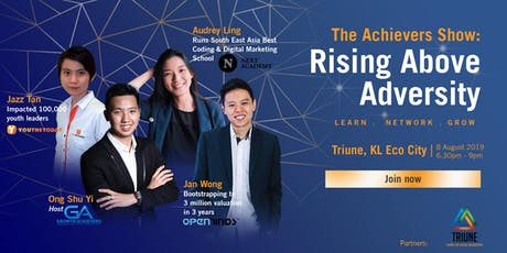 The Achievers Show: Rising Above Adversity (FREE EVENT) tickets