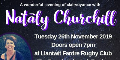 Nataly Churchill Clairvoyance Evening