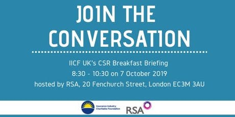 CSR Breakfast Briefing for Insurance Professionals tickets