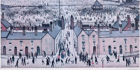 L.S Lowry Exhibition at Whitewall Galleries Chester tickets