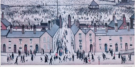 L.S Lowry Exhibition at Whitewall Galleries Chester