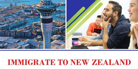 New Zealand Live Permanently Full Family No Investment  Study Work tickets