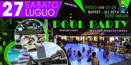 POOL PARTY NOVOTEL LINATE biglietti