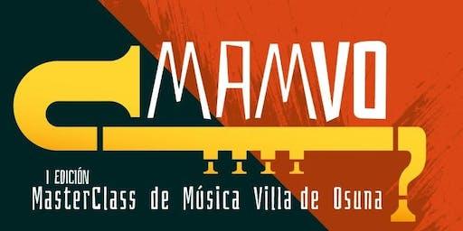 Master Class MAMVO Clarinete - Pablo Barragán