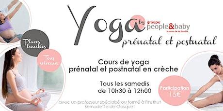 Cours de yoga en crèche - Puteaux  billets