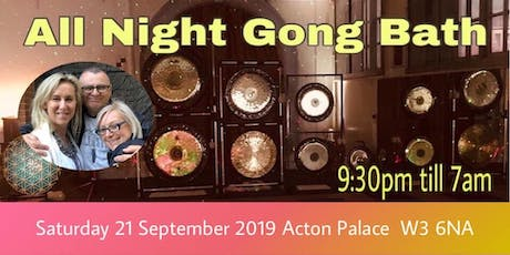 All Night Gong Bath - Autumn Equinox tickets