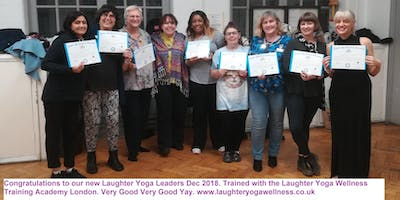 Certified laughter yoga leader plus exclusive advanced module London September 2019
