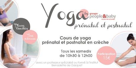 Cours de yoga en crèche - Nantes billets