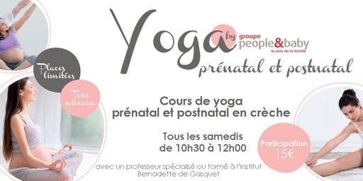 Cours de yoga en crèche - Nantes