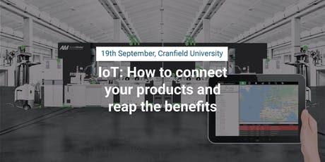 IoT: How to connect your products and reap the benefits tickets