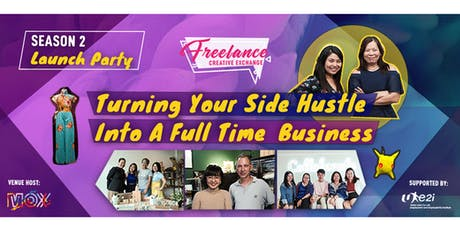 Turning Your Side Hustle Into A Full Time Business tickets