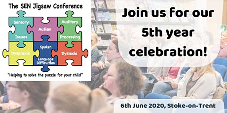 The 5th SEN Jigsaw Conference 2020 tickets