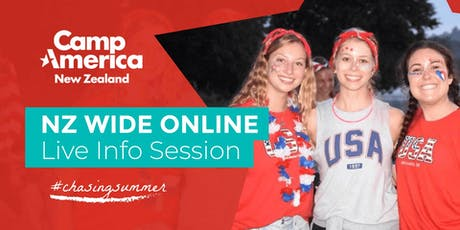 Live Online Information Session - Wed 14 August 2019 tickets