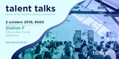 talent talks - Focus sur les nouvelles cultures d'entreprise