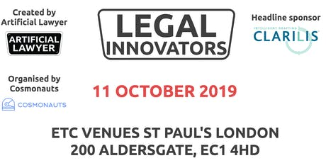 Legal Innovators - Learn, Share and Network tickets