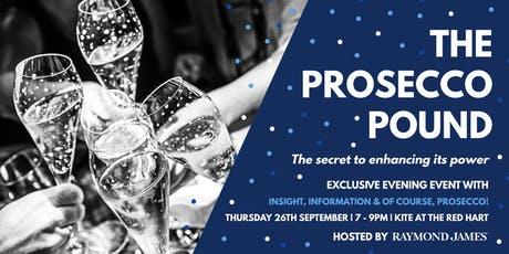 The Prosecco Pound. The secret to enhancing its power. tickets