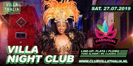 Villa Night Club: Carnaval Special 27-7