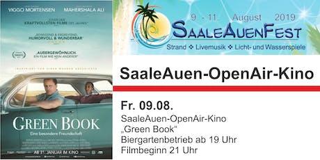 """SaaleAuenFest 2019 - Freitag: Open-Air Kino """"Green Book"""" Tickets"""