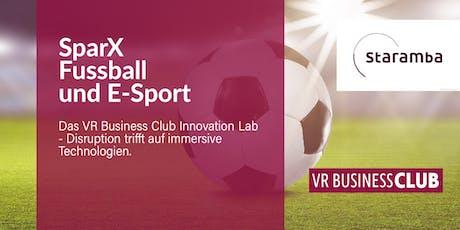 Kick-off Event SparX zum Thema Fußball und E-Sport Tickets