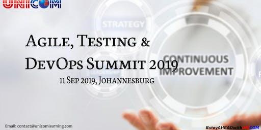 Agile, Testing & DevOps Summit 2019 -  Johannesburg