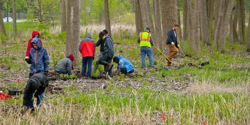 Stewardship Day at Shiawassee River State Game Area