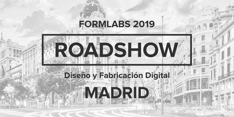 Formlabs Madrid RoadShow 2019 entradas