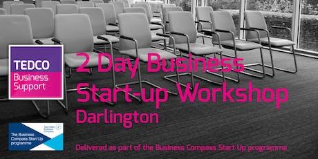 Business Start-up Workshop Darlington (2 Days) December tickets