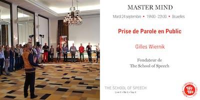 Master Mind - Prise de parole en public, Gilles Wiernik - Brabant Wallon