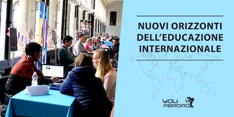 Nuovi orizzonti dell'educazione internazionale - Milano 19/10/2018 biglietti
