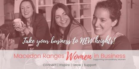 Macedon Ranges Women In Business Networking Meeting SEPTEMBER tickets