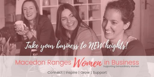 Macedon Ranges Women In Business Networking Meeting SEPTEMBER