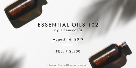 Essential Oils 102 - Make Your Own Diffuser Oil & Lotion (Aug 16) tickets
