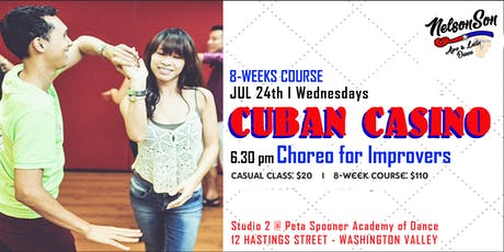 Cuban Casino - Improvers Choreo [8-weeks course] tickets