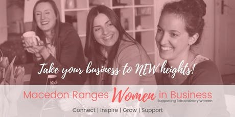 Macedon Ranges Women In Business Networking Meeting OCTOBER tickets