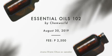 Essential Oils 102 - Make Your Own Diffuser Oil & Lotion (Aug 30) tickets